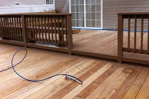 Deck Staining & Sealing Services