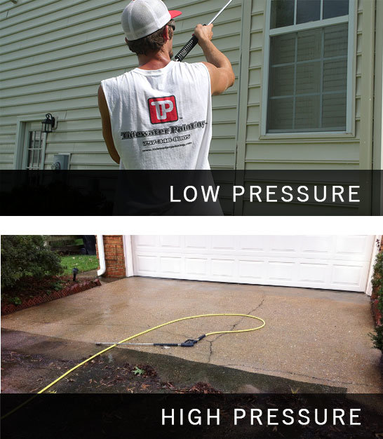 Low Pressure Siding Wash