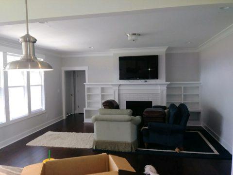 White Interior Paint Job