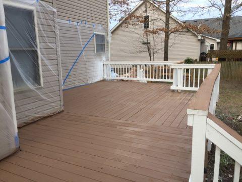 Deck Restoration Example
