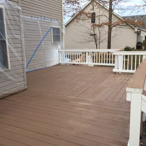 Deck Restoration Example